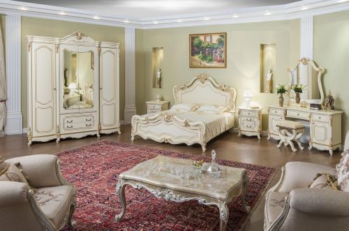 Спальный гарнитур Мона Лиза бежевый