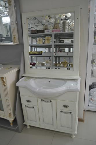 Мебель для ванной Тибет Белый Opadiris