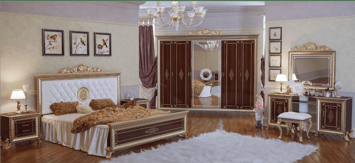 Cпальня Версаль тайский орех мэри ставрополь