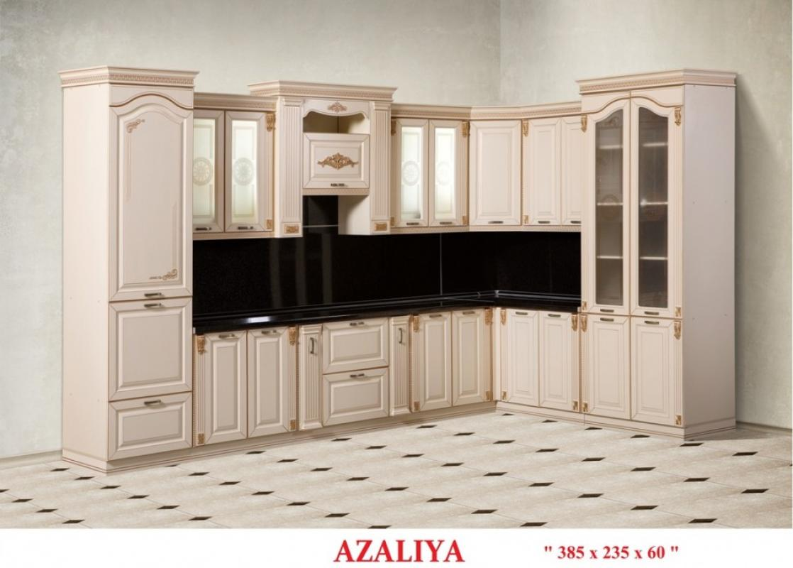 Кухня Азалия угловая 385 *235