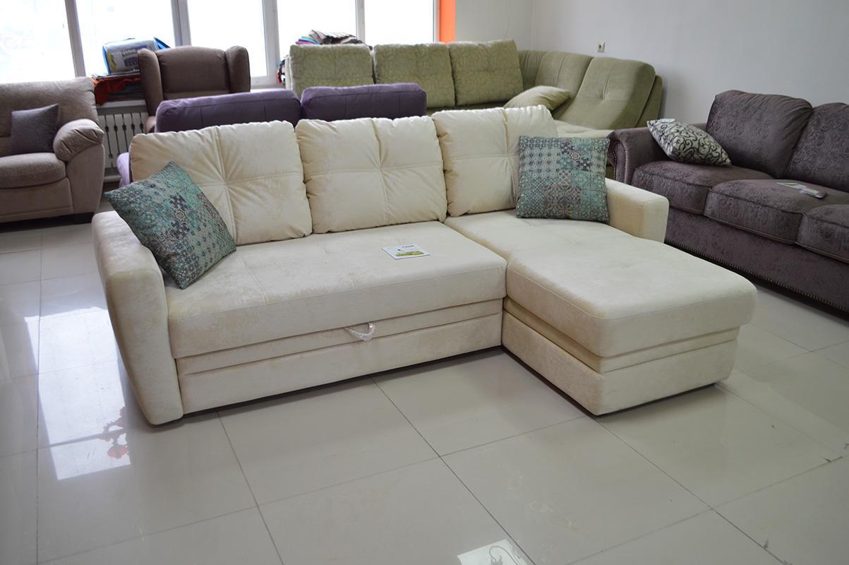 Айдар модульный диван pushe белый