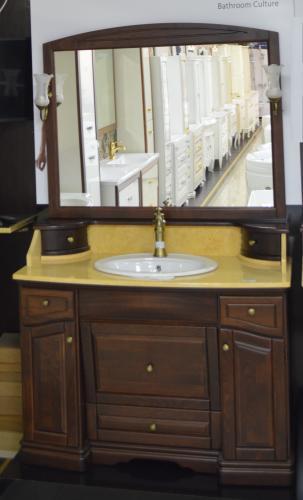 Мебель для ванной Лучия орех