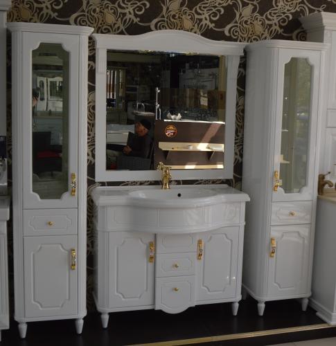 Мебель для ванной Каталония цвет белый