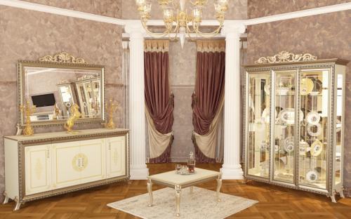 Гостиная Версаль витрина стенка