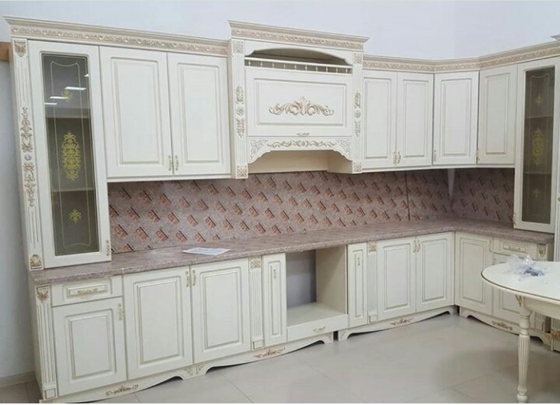 Кухня Жасмин угловая 420*150