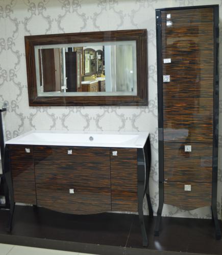 Мебель для ванной Мадонна эбано (Swarowski)