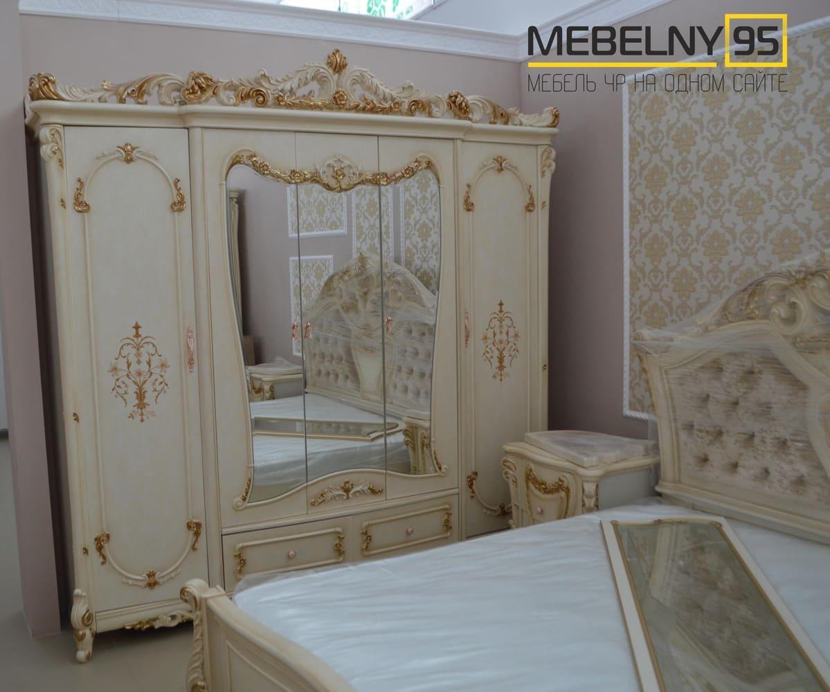 Спальные гарнитуры - изображение №2 на mebelny95.ru