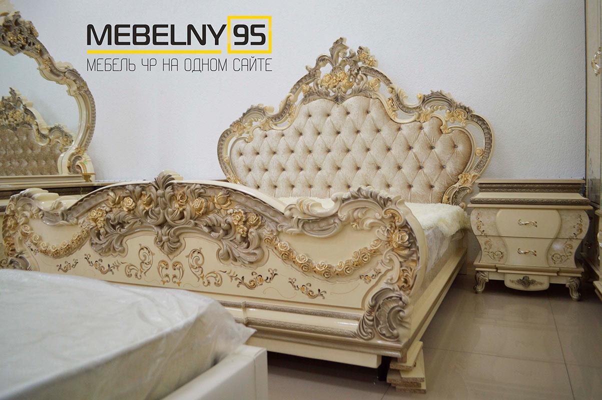 Спальные гарнитуры - изображение №3 на mebelny95.ru