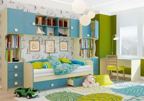Комплекты детской мебели  - изображение №1 на mebelny95.ru