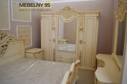 Спальный гарнитур Габриэлла крем - фото 2