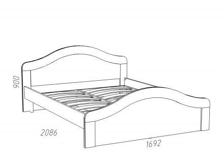 Кровать «Прованс Шери» НМ 011.73 - фото 2