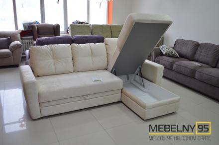 Айдар модульный диван pushe белый - фото 2