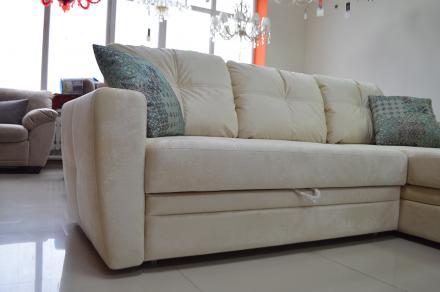 Айдар модульный диван pushe белый - фото 3